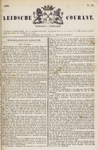 Leydse Courant 1882-02-01