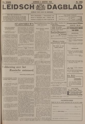 Leidsch Dagblad 1938-08-06