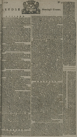Leydse Courant 1749-01-20