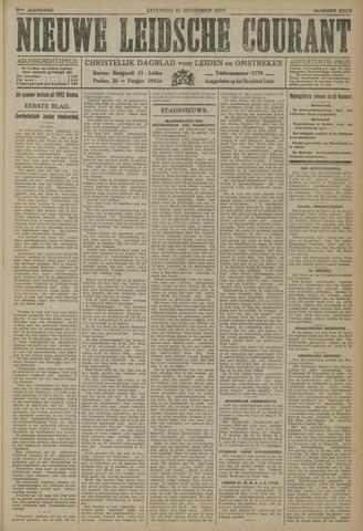 Nieuwe Leidsche Courant 1927-12-10
