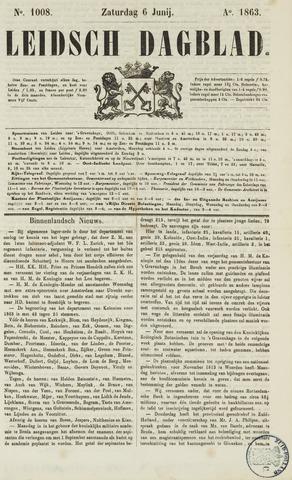 Leidsch Dagblad 1863-06-06