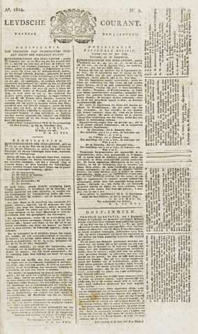 Leydse Courant 1824-01-05