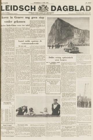 Leidsch Dagblad 1954-05-12