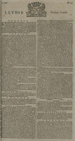 Leydse Courant 1726-12-06