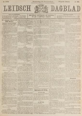 Leidsch Dagblad 1916-11-18