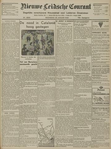 Nieuwe Leidsche Courant 1939-01-25