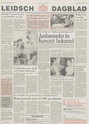 Leidsch Dagblad 1990-08-24