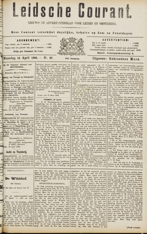 Leydse Courant 1890-04-14