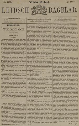 Leidsch Dagblad 1885-06-19