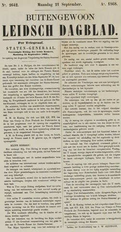 Leidsch Dagblad 1868-09-21