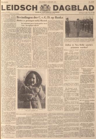 Leidsch Dagblad 1949-01-17
