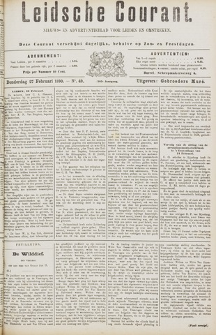 Leydse Courant 1890-02-27
