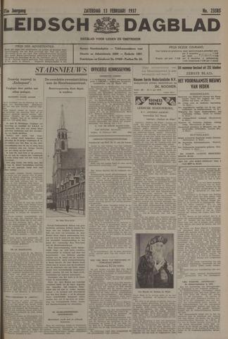 Leidsch Dagblad 1937-02-13