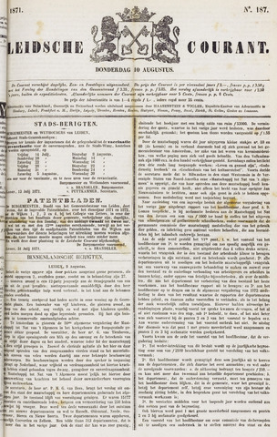 Leydse Courant 1871-08-10
