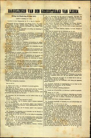 Handelingen van de Raad 1874-06-25