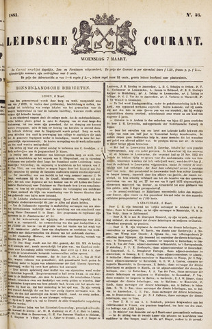 Leydse Courant 1883-03-07