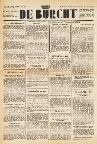 De Burcht 1945-07-30