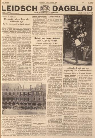 Leidsch Dagblad 1949-09-21