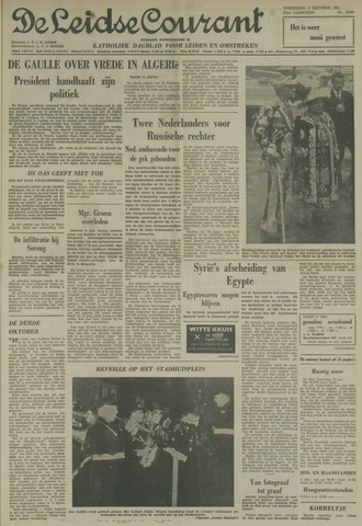 Leidse Courant 1961-10-04