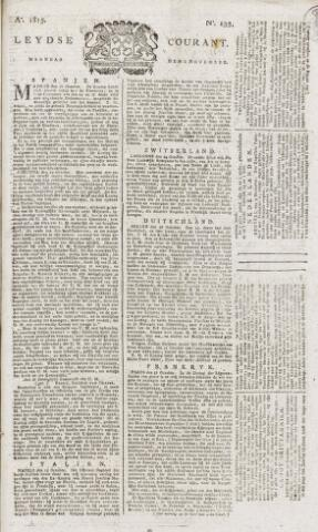 Leydse Courant 1815-11-06