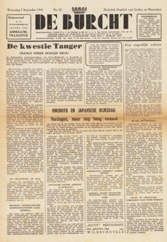 De Burcht 1945-09-05