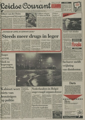 Leidse Courant 1987-02-07