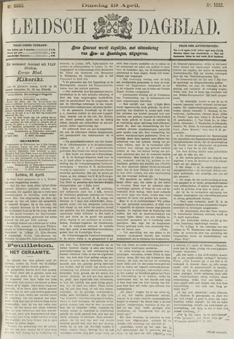 Leidsch Dagblad 1892-04-19