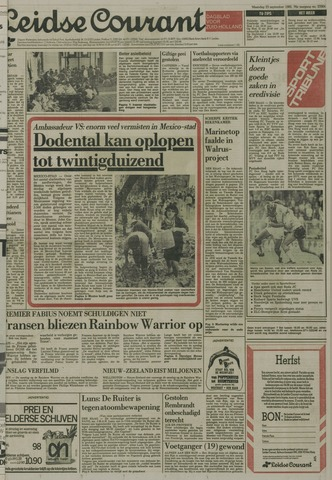 Leidse Courant 1985-09-23