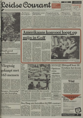 Leidse Courant 1987-07-24