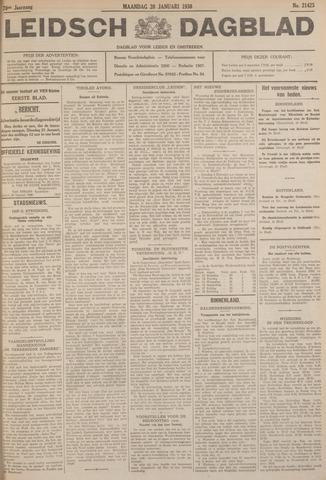 Leidsch Dagblad 1930-01-20