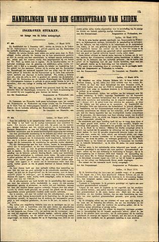 Handelingen van de Raad 1873-03-17