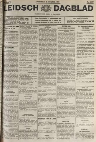 Leidsch Dagblad 1933-11-09