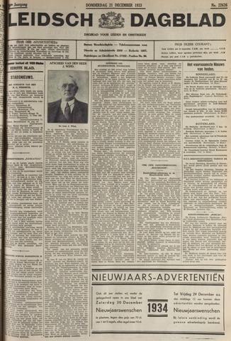 Leidsch Dagblad 1933-12-21