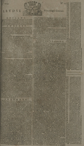 Leydse Courant 1743-02-20