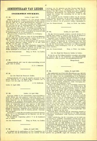 Handelingen van de Raad 1932-04-08