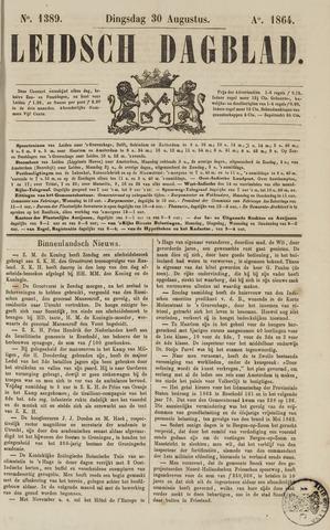Leidsch Dagblad 1864-08-30