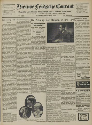 Nieuwe Leidsche Courant 1938-11-21