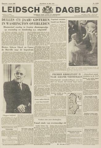Leidsch Dagblad 1959-05-25
