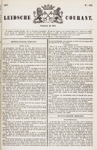 Leydse Courant 1877-05-25