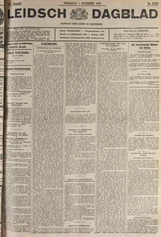 Leidsch Dagblad 1933-11-01