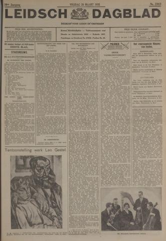 Leidsch Dagblad 1935-03-29