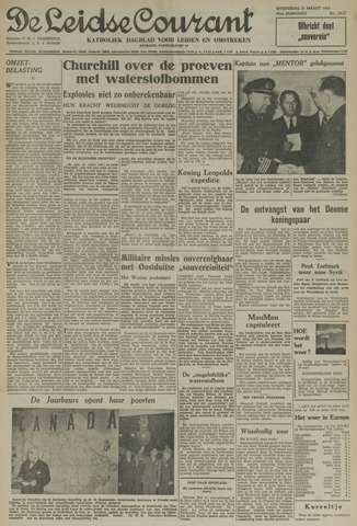 Leidse Courant 1954-03-31