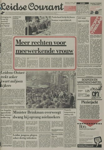 Leidse Courant 1987-10-05