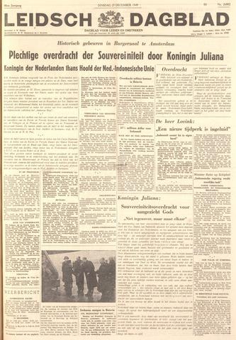 Leidsch Dagblad 1949-12-27