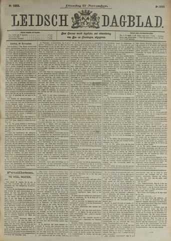 Leidsch Dagblad 1896-11-17