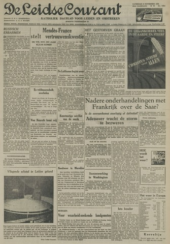 Leidse Courant 1954-11-06