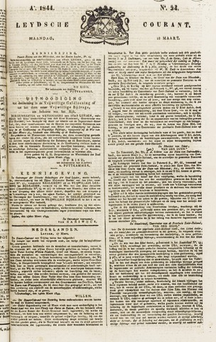 Leydse Courant 1844-03-18
