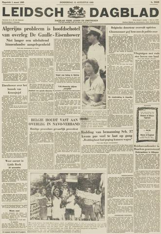 Leidsch Dagblad 1959-08-13