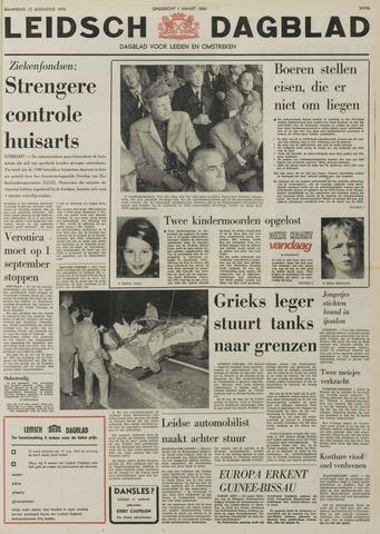 Leidsch Dagblad 1974-08-12
