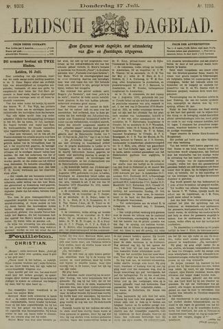 Leidsch Dagblad 1890-07-17